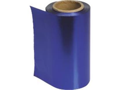 Alufolie Farbig blau