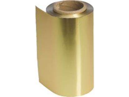 Alufolie Farbig gold