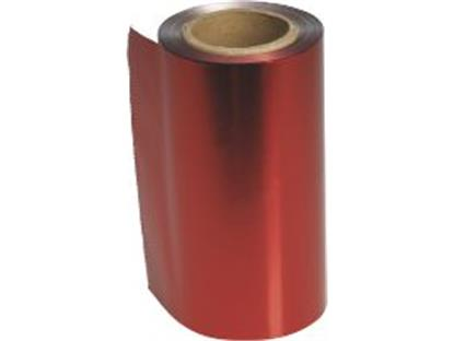 Alufolie Farbig rot