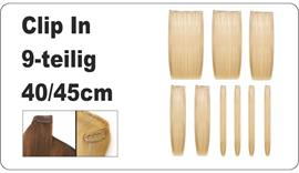 CLIP IN Extensions 9-teilig 40-45cm