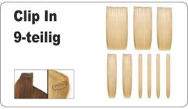 CLIP IN Extensions 9-teilig