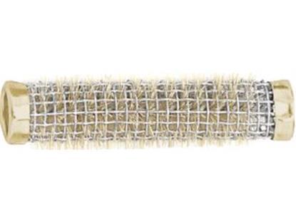 Drahtbürstenwickler gold 65x13