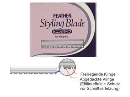 Feather TH Klingen 10 Stück