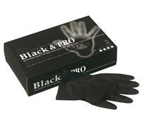 Handschuhe Black & Pro M - 7 (20ST)