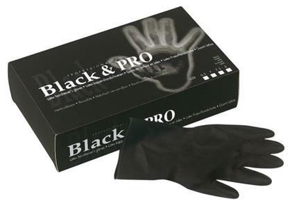 Handschuhe Black & Pro S - 61/2 (20ST)