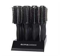 Olivia Garden Fingerbrush ROUND 16er Display