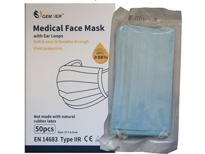 Schutzmasken Typ II R / EN14683 50 Stück