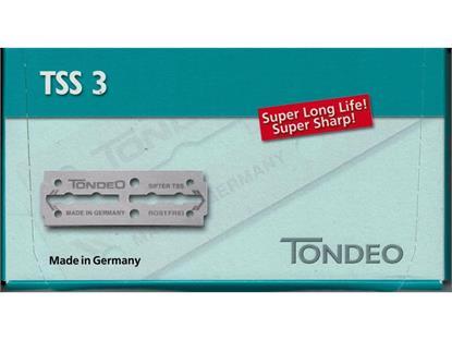 TONDEO TSS-3 Klingen Karton à 100 Stück